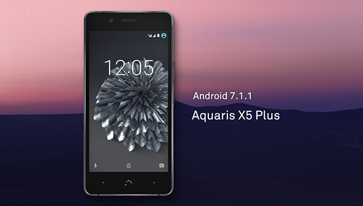 BQ releases Android 7.1.1 OTA for the Aquaris X5 Plus (while most of us still haven't received 7.0)