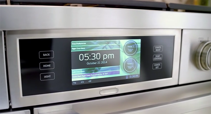 Samsung has released a new app for controlling Dacor iQ smart appliances