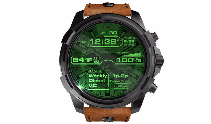 Diesel On Full Guard Android Wear 2.0 goes on sale for $325