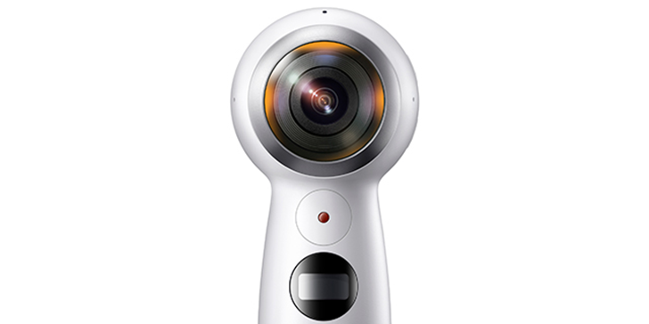 Samsung's reveals a new Gear 360 camera, smaller and lighter than the original