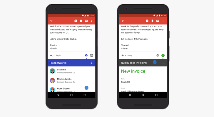 Gmail Add-ons are coming to G Suite