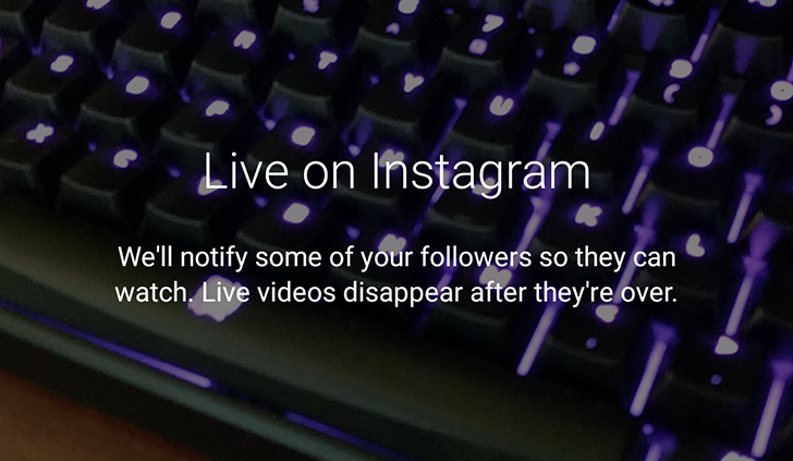 Instagram 10.12 allows you to save live video after broadcasting it