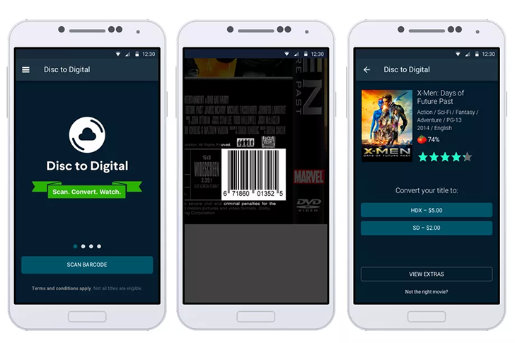 Vudu Disc-to-Digital goes mobile: scan your DVD collection and convert it to digital for a fee [Updated]
