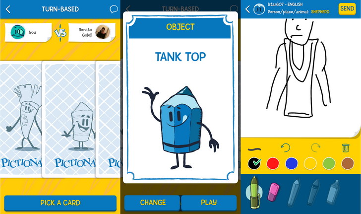 Better late than never, an officially licensed Pictionary game is out on the Play Store