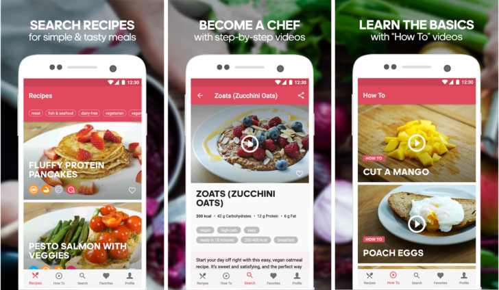 Runtastics new app is all about healthy recipes and its name is when i think of runtastic i think of an app that i install on every phone fully intending to use it unfortunately i completely forget about it and end up forumfinder Image collections