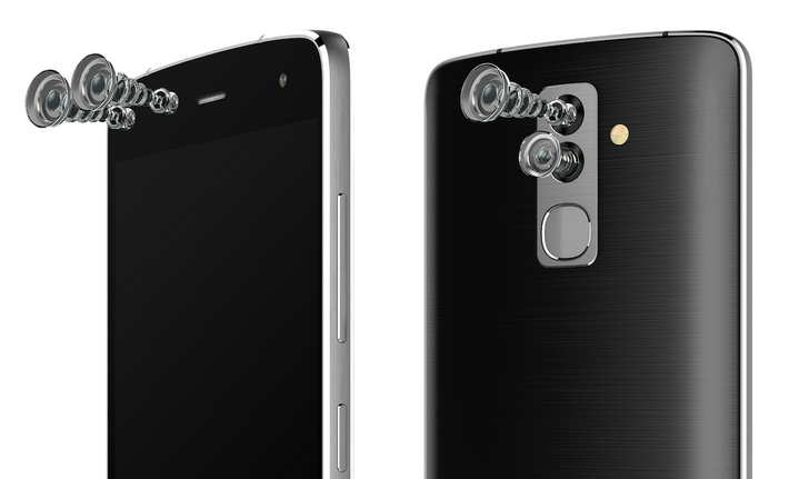 A sight for four eyes: Alcatel announces a phone with four cameras
