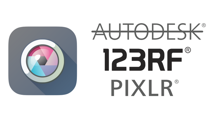 Pixlr, the popular photo editor by Autodesk, has been sold to 123RF