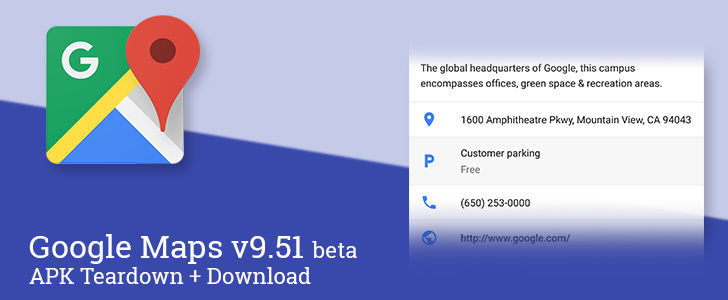 Google Maps v9.51 beta adds new details about parking, prepares to improve route planning with parking suggestions and traffic charts [APK Teardown + Download]
