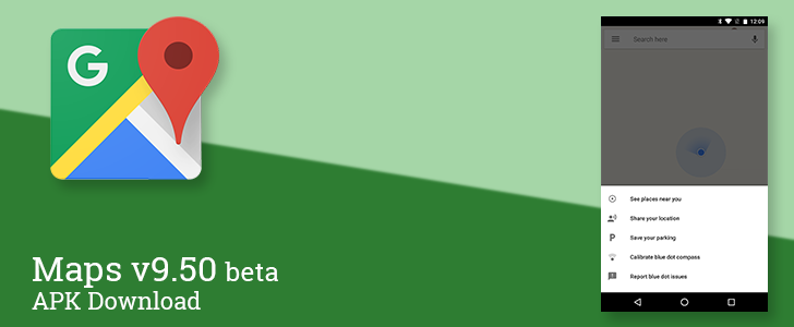 Maps v9.50 beta restores the feature to save and share parking locations [APK Download]