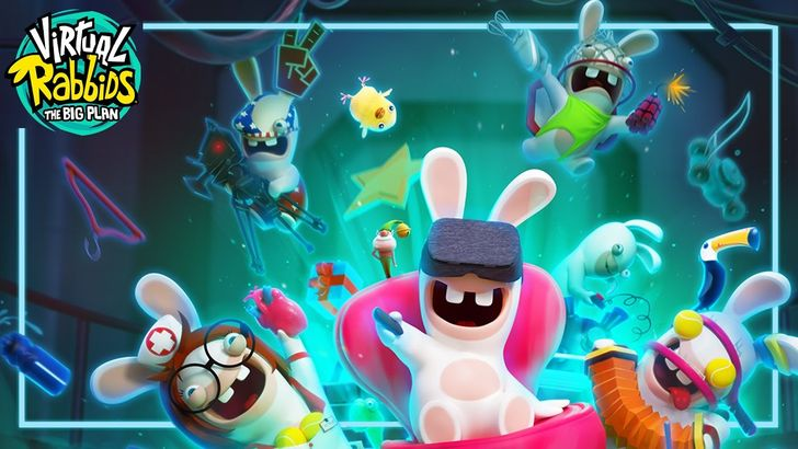 Virtual Rabbids: The Big Plan is a goofy Daydream VR mini-game collection from Ubisoft