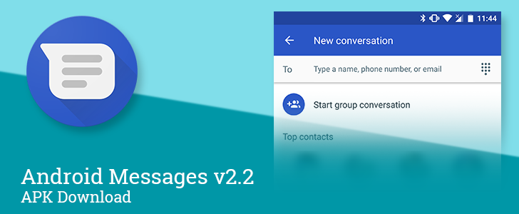 Android Messages v2.2 cleans up the setup for solo and group messaging, allows adding new people to conversations [APK Download]