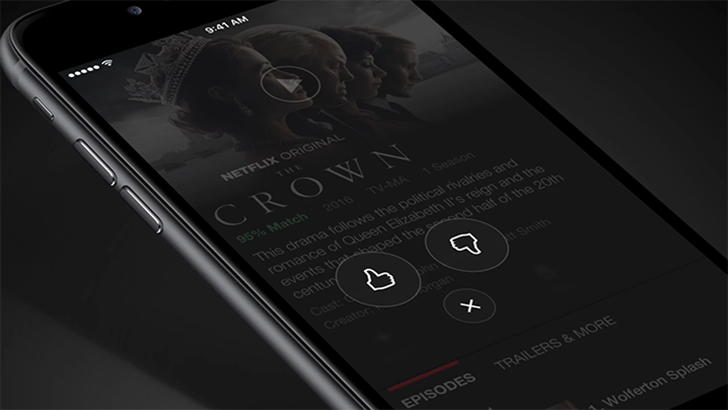 Netflix is replacing its five-star rating system with thumbs-up and thumbs-down