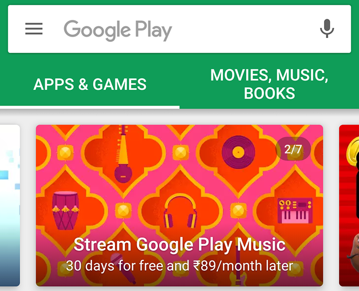 Google Play Music Launches In India With Monthly Subscription