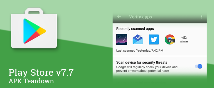 Play Store v7.7 prepares to roll out new security features and split notification settings to a separate screen [APK Teardown]