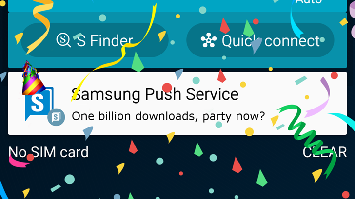 what is samsung push service