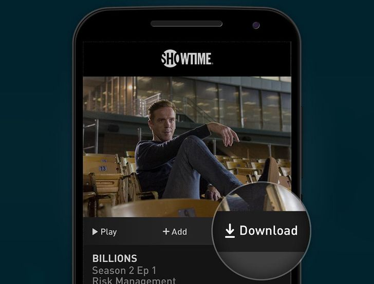 Showtime adds video downloads to its streaming apps