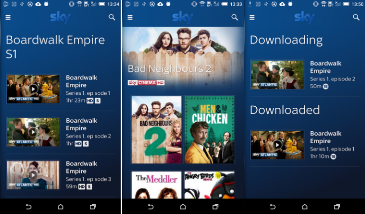 Sky Go app gets visual refresh, 7-day TV guide, and remote record in version 6.0