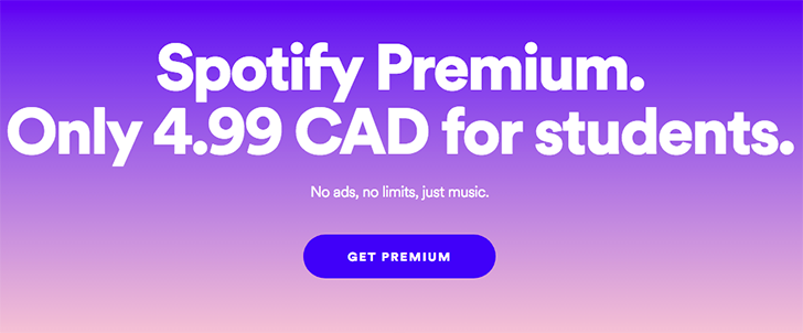 33 new countries now offer the Spotify Premium for Students discount