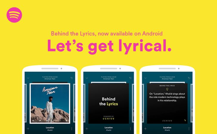 "Spotify and Genius bring ""Behind the Lyrics"" feature to Android"