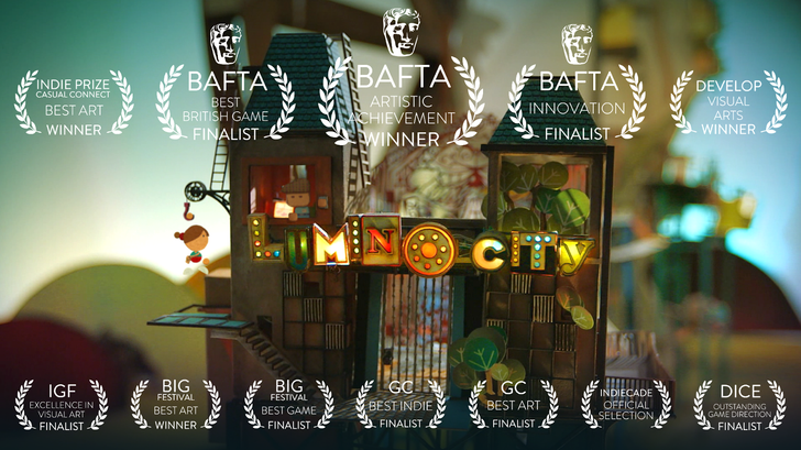 Noodlecake Studios brings us Lumino City, an award winning handcrafted puzzle adventure game