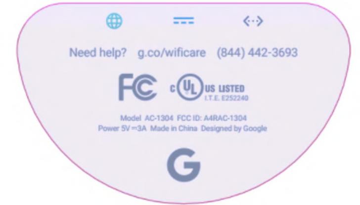 A new version of Google Wifi pops up at the FCC without ZigBee support