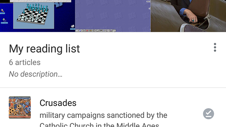 Wikipedia Beta revamps the reading list and adds minor UI changes [APK Download]