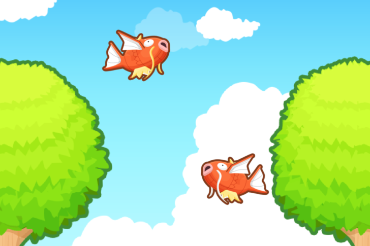 Image result for Pokémon: Magikarp Jump, a solid spin-off that revolves around an often forgotten about Pokémon