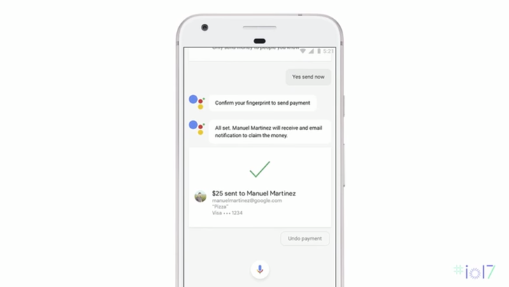 Google Assistant will soon support sending money with your Google account