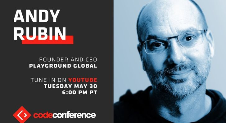 Andy Rubin will talk about the Essential Phone at the Code Conference tonight, here's how to watch