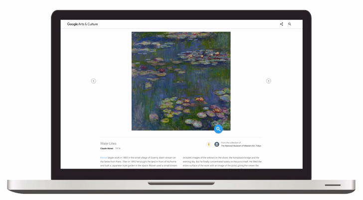 Google improves art searches with high-resolution images, interactive knowledge panels, and more