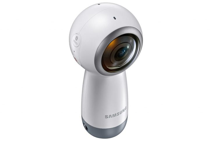 Samsung's new Gear 360 camera is available today for $229
