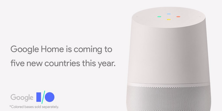 Google Home launching in Canada, Australia, France, Germany, and Japan this summer