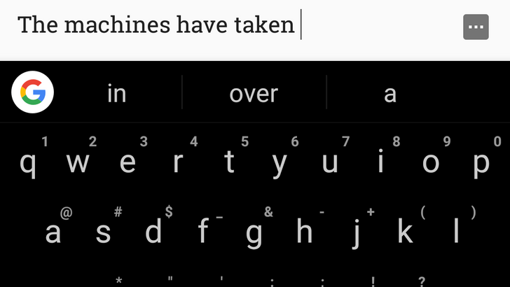 Here are a few ways machine learning has improved Gboard