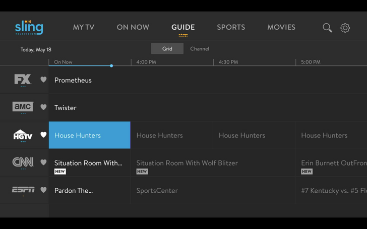 [Update: Changes are rolling out] Sling TV announces a new interface for Android users to improve navigation and content discovery