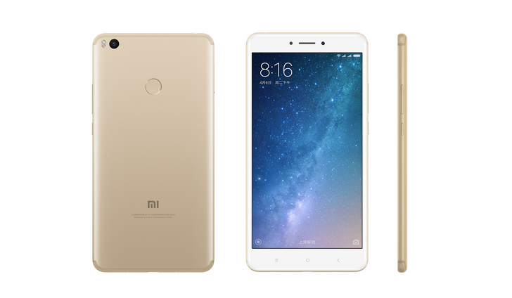 "Xiaomi announces the monstrous Mi Max 2 with a 6.44"" screen, 5300mAh battery, and Nougat"