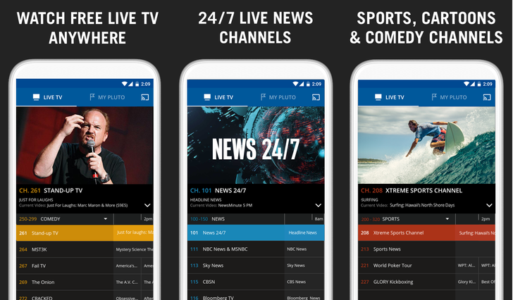 Pluto TV 3.2.1 adds in video on demand with a design and navigation refresh