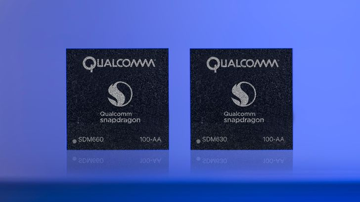 Qualcomm announces the Snapdragon 660 and 630