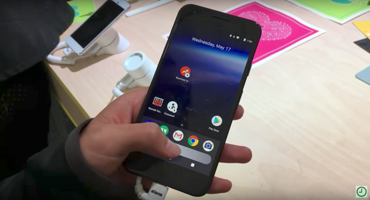 Redesigned Pixel Launcher makes early appearance at Google I/O