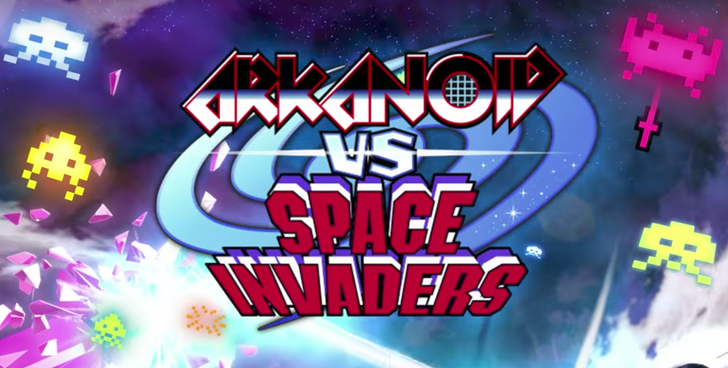 Square Enix releases classic games mash-up Arkanoid vs Space Invaders