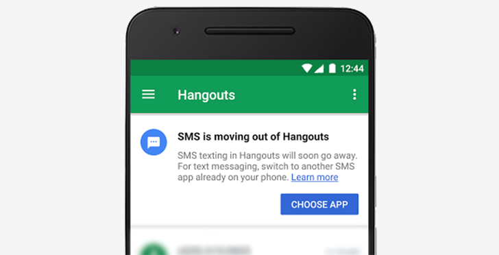 SMS support for Hangouts officially ends today, excluding Google Voice and Project Fi subscribers