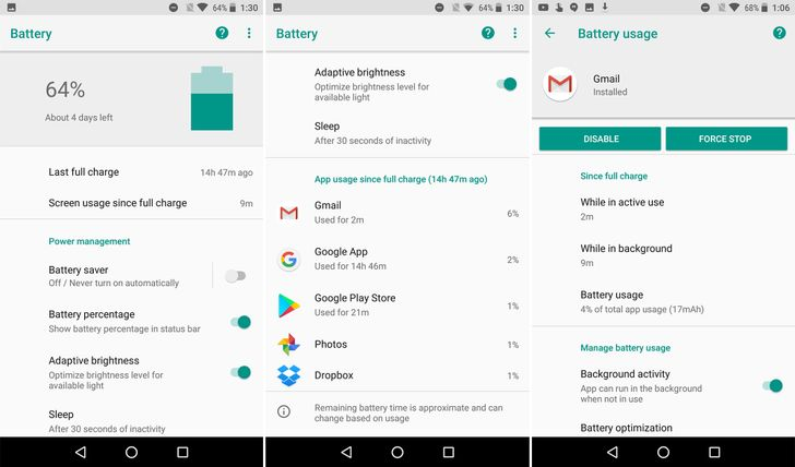 Android O feature spotlight: Google explains the new actionable battery menu