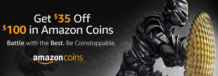 [Deal Alert] Get 10,000 Amazon Appstore coins for $65 ($35 off) through May 25th