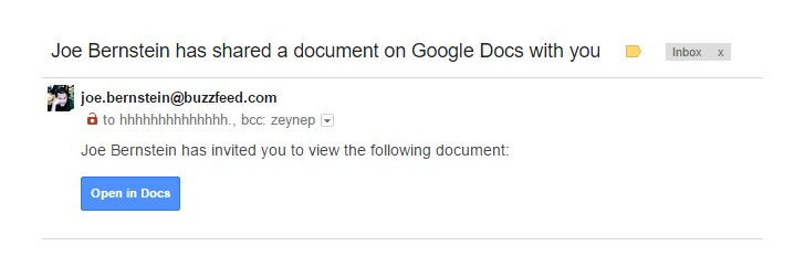Google releases official statement on widespread Google Docs phishing email
