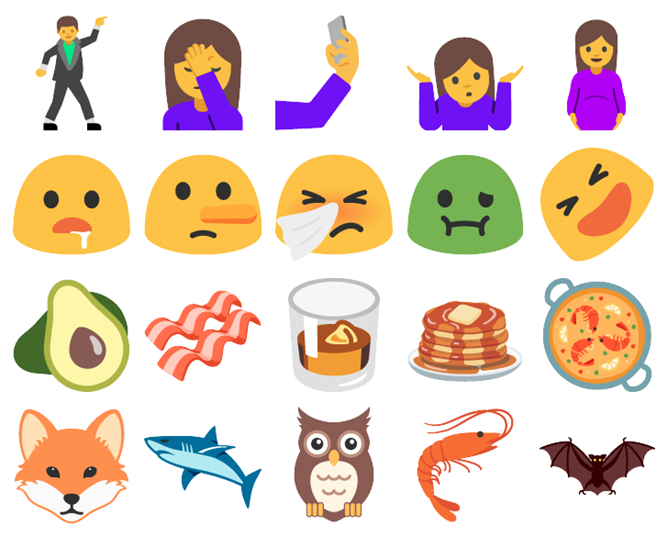 The emoji support library in Android O means your phone won't need OS updates for new emoji anymore