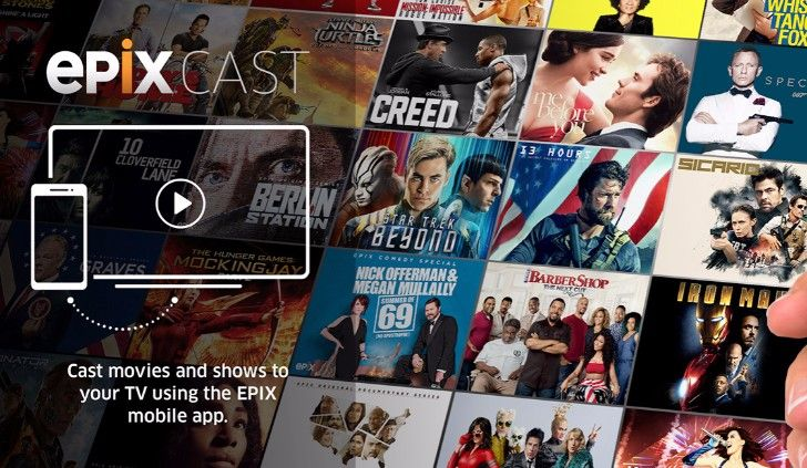 """Epix launches """"EPIX Cast"""" streaming feature, no additional hardware required"""