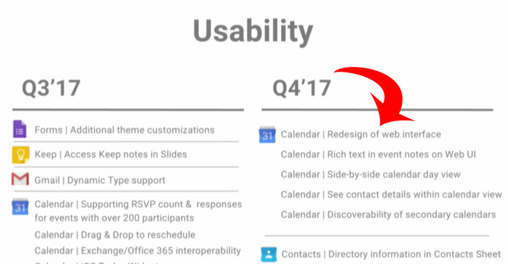 [Is This Real?] Google Calendar's web interface should be getting a redesign in Q4 2017