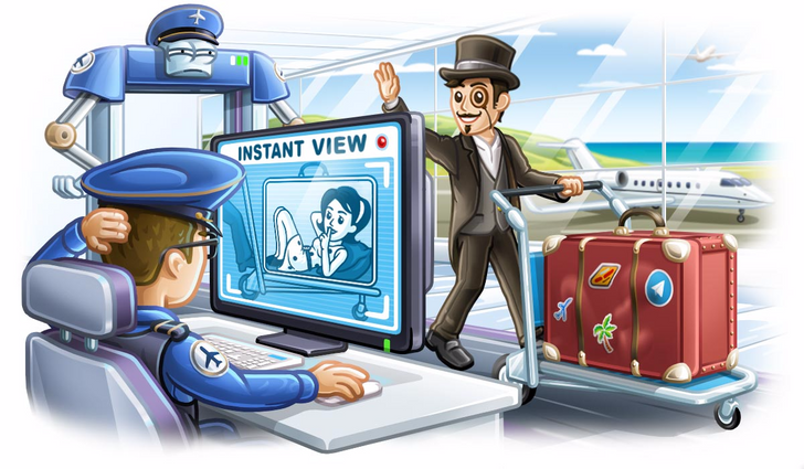 Telegram 4.0 brings the full launch of the Instant View Platform, bot payments, and video messages