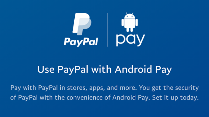 PayPal integration in Android Pay is going live
