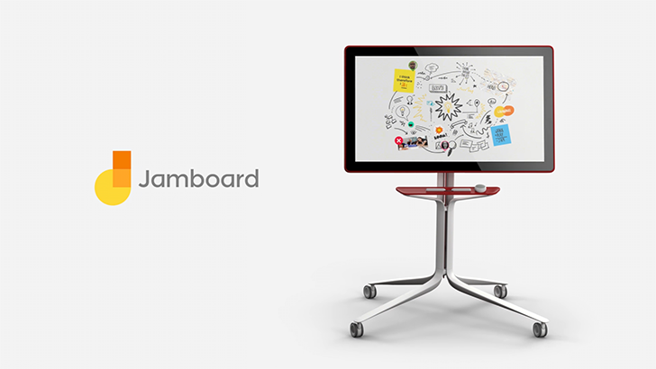 Google's cool collaborative whiteboard, Jamboard, comes to the UK for £3,999