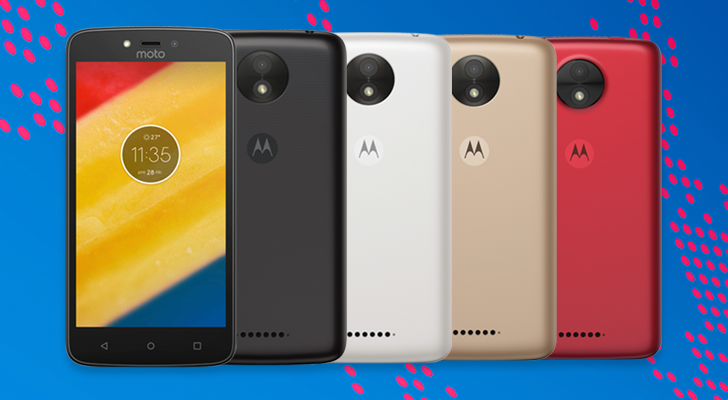 Motorola officially announces the Moto C and C Plus, won't be available in the US